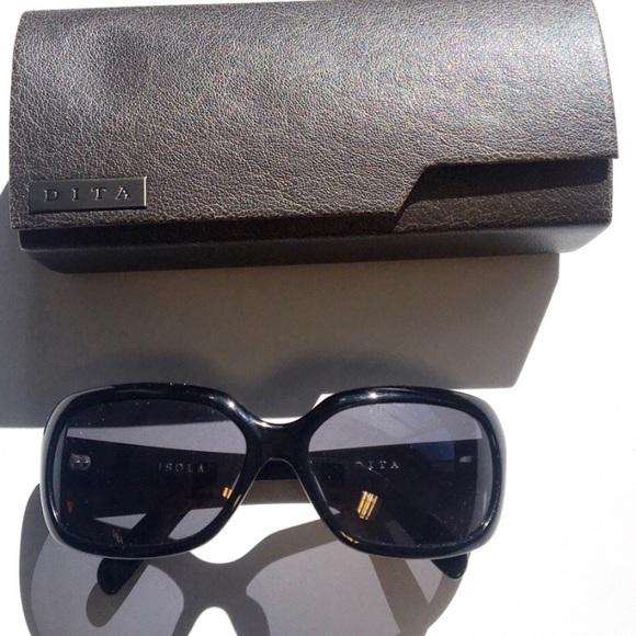 48602c26e3a Dita Isola Sunglasses (4400A Black)